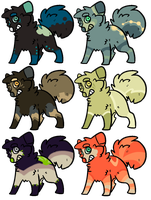 Canine Batch || 3 OPEN|| by AdoptingLove