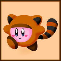Tanooki Kirby by The-Super-Brawl-Girl
