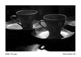 50s Teacups by misteriddles