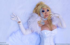 Emma Frost on Ice by yayacosplay