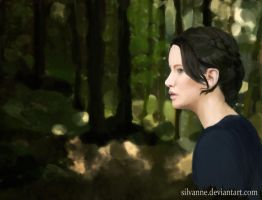 Katniss Everdeen by Silvanne