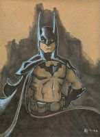 Batman Posed by Pencilbags