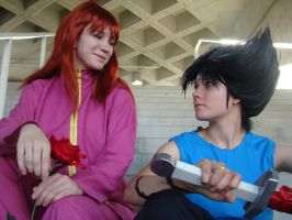 Kurama and Hiei: In This Together by SoaringVisions