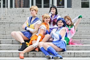 Pretty Sailor Soldiers 1 by tangibletenacity