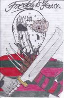 Freddy vs Jason by alexinho1228