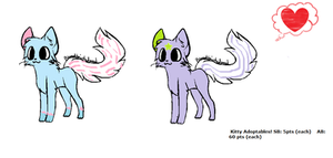 Kitty Adopts by XxTheBelieverXx