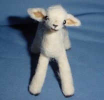 Little Lamb Wooliture by RoseThistleArtworks