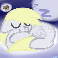 Derpy Zzz's~ by Cloufy