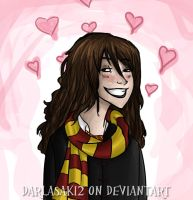 Hermione - Daydreaming by Darlasaki2