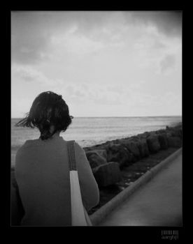holga.gone out to sea by aarghj