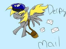 Derpy mail! by Deep-Fried-Love