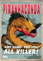 Syfy MM Piranhaconda by Randoman92