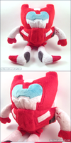 Transformers MTMTE First Aid Plush by Mazzlebee