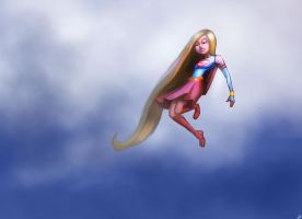 SuperGirl by PandaFace