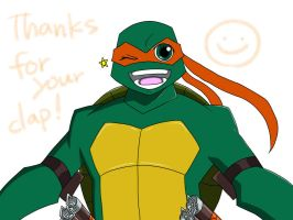 Clap your hands2+Michelangelo+ by roy-tailor