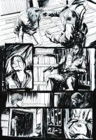 Silent Hill #2 Page 5 Original Art by T-RexJones