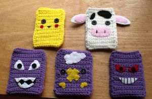 Cell Phone- MP3 Player Cozies by LiebeTacos