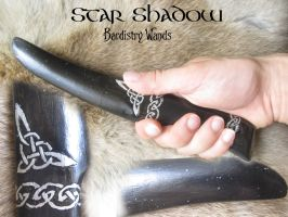Star Shadow Goddess Athame by Seraphine-Harmonium