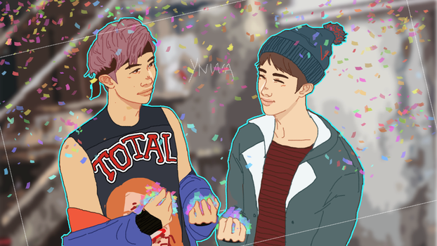 YNWA JIN AND NAM by Ryede