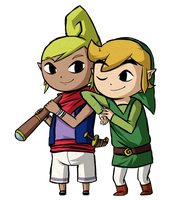 Wind Waker: My Best Friend REMAKE by Icy-Snowflakes