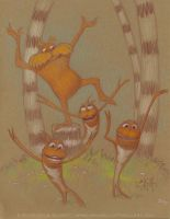The Lorax and Humming-fish by craigelliottgallery