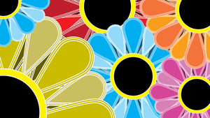 Vector Flower Wallpaper by Silentmatten