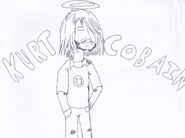 Kurt Cobain by regidar