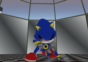 MetalSonic - knocked down... but i'll get up again by mitchika2