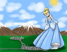 Cinderella Giantess .:Request:. by darkangelyuna