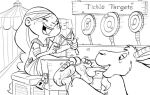 Little knight Trenk: Thekla's target practice by Phuram