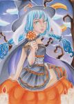 Halloween Chieri ACEO by Anako-Kitsune