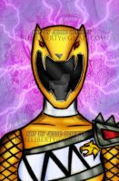 Dino Charge Yellow ranger (sentai kyoryuger) by blueliberty