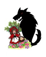 Little Red Riding Hood by evs-eme
