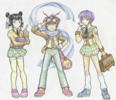 My Students char design col by 13671Onin