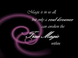 Magic is real by KimberlySueDeBalts
