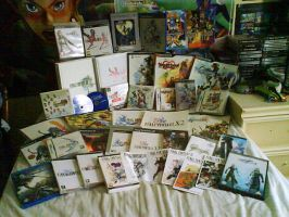 My FF and KH collection by nv8