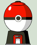 pokemon OTS gacha machine(open) by NeVerDark1211