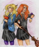 Ravenclaw and Gryffindor by RiTTa1310