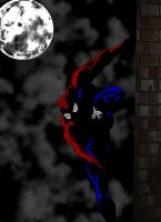 Spider-Man In The Dark by pascal-verhoef