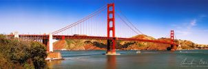Golden Gate Bridge by Nightline