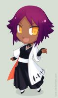 Bleach: Chibi Yoruichi by HamsterParade