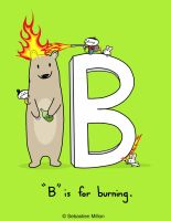 B is for Burning by sebreg