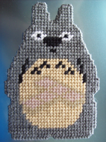 [Commission] Totoro Display Piece by AprilMoonshine