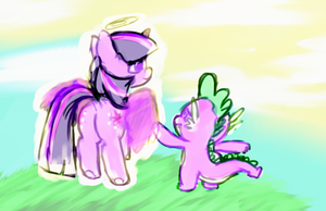 Carry me to heavens arms by colorlesscupcake