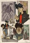 The Young Dylan Dog - sketches by DenisM79
