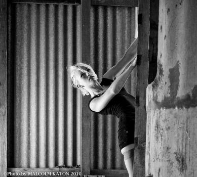 climbing the silo by CandyTalentine