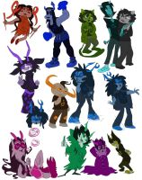 here have some trolls by Nemoy