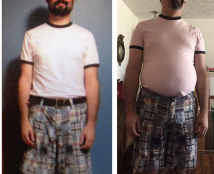 5 years and 64 pounds front by HeavyRyan