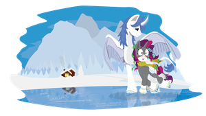 (Request) On ice! by LeirbagAhcor