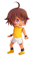-- Chibi Commission for Task-master -- by Kurama-chan